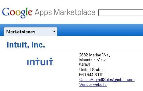 Google Opens The Google Apps Marketplace
