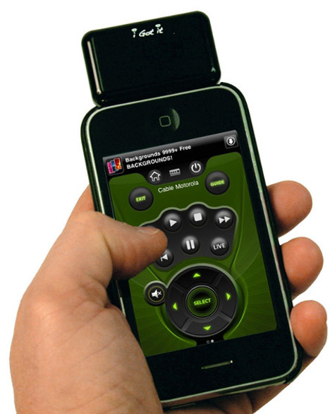 i-Got-Control Remote Control Accessory For Your iPhone