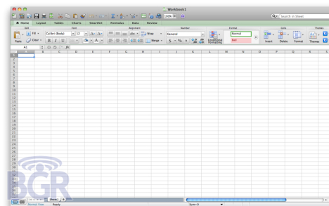 More Details On Microsoft Office For Mac 2011 | Ubergizmo
