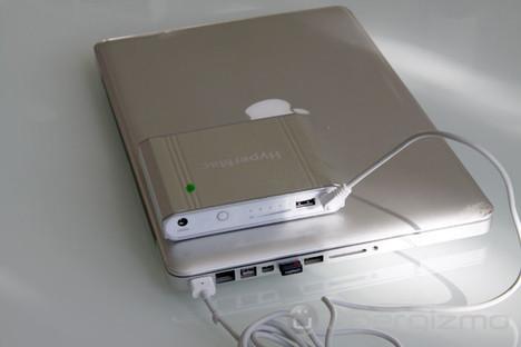 Macbook Battery: HyperMac External Battery, Hands-On