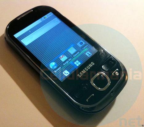 Samsung Galaxy 5 (GT-I5500) caught in the wild