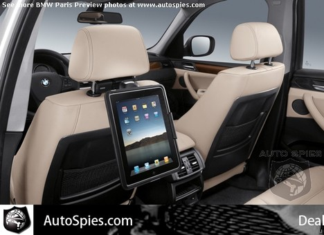 iPads to find a home in BMWs next