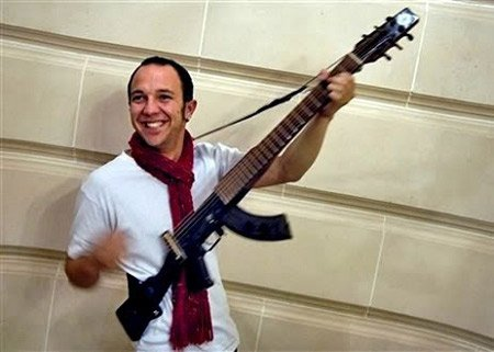 AK 47 Guitar