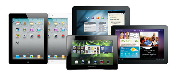 Tablets sizes