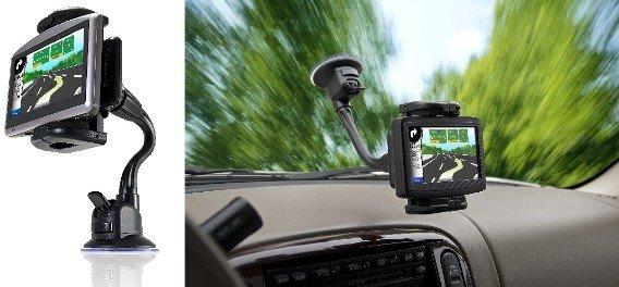 Bracketron Universal GPS Window Mount