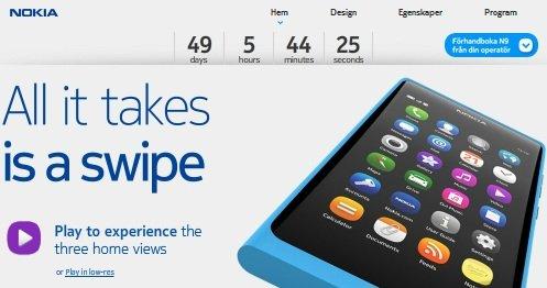 Nokia N9 Countdown