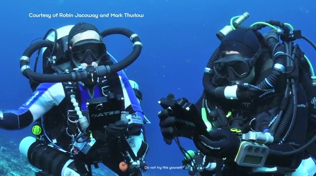 Sony Reader underwater