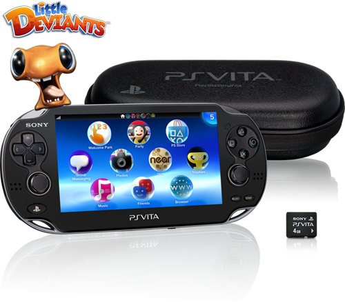 Sony PlayStation Vita Early First Edition Bundle