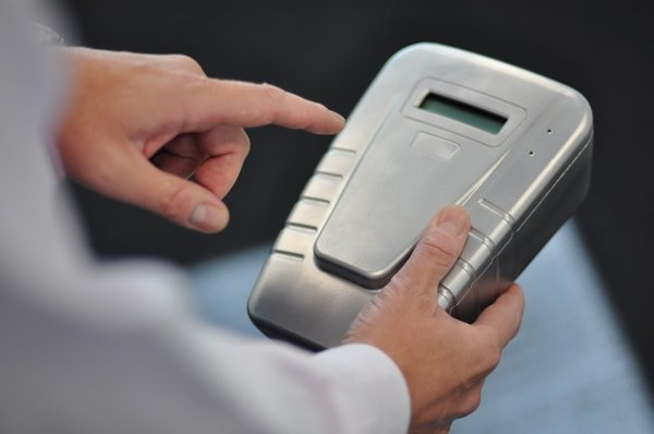Fingerprint drug tester