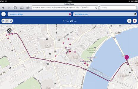 Nokia Maps iOS