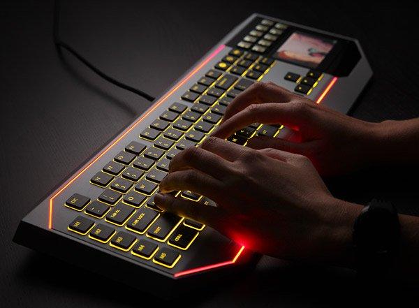Star Wars LCD keyboard