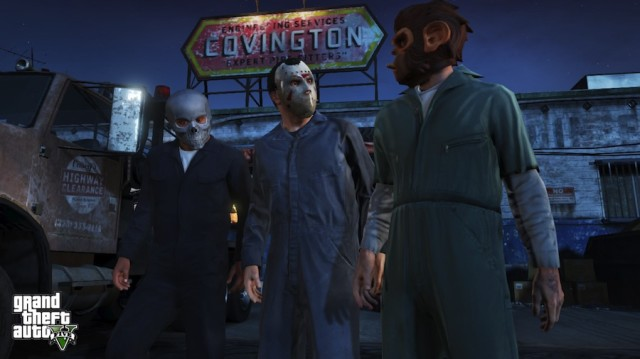 New GTA 5 Screenshots Feature Heists, Scuba And Ridiculous Costumes
