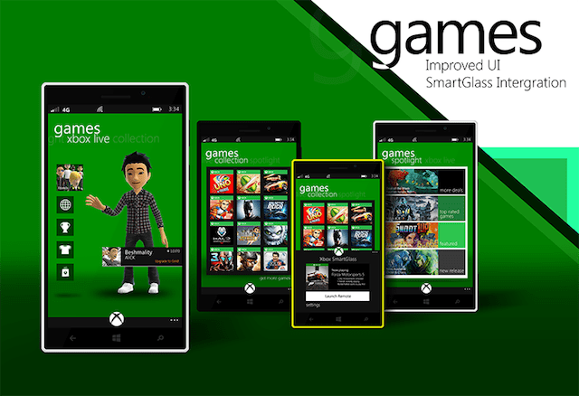 xbox-games-hub-windows-phone-8.1