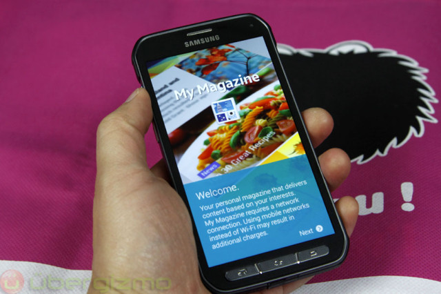 AT&T Galaxy S5 Active Gets Android 5 1 1 Update | Ubergizmo