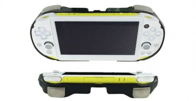 PS Vita Accessory Gives The Handheld Console L2/R2 Triggers