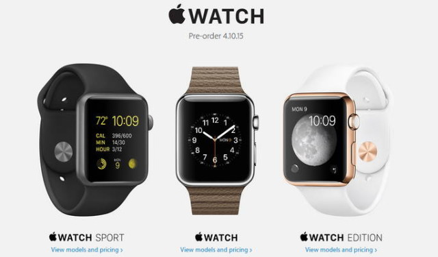 apple watch preorder