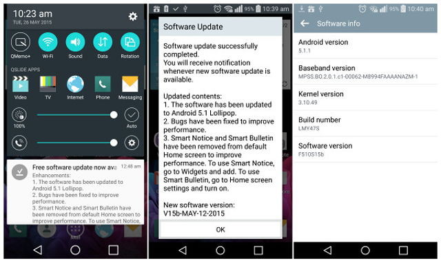 LG G Flex 2 Gets Android 5 1 1 Update In Korea | Ubergizmo