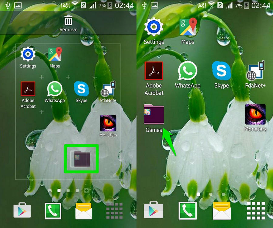 How To Create App Folders in Android | Ubergizmo