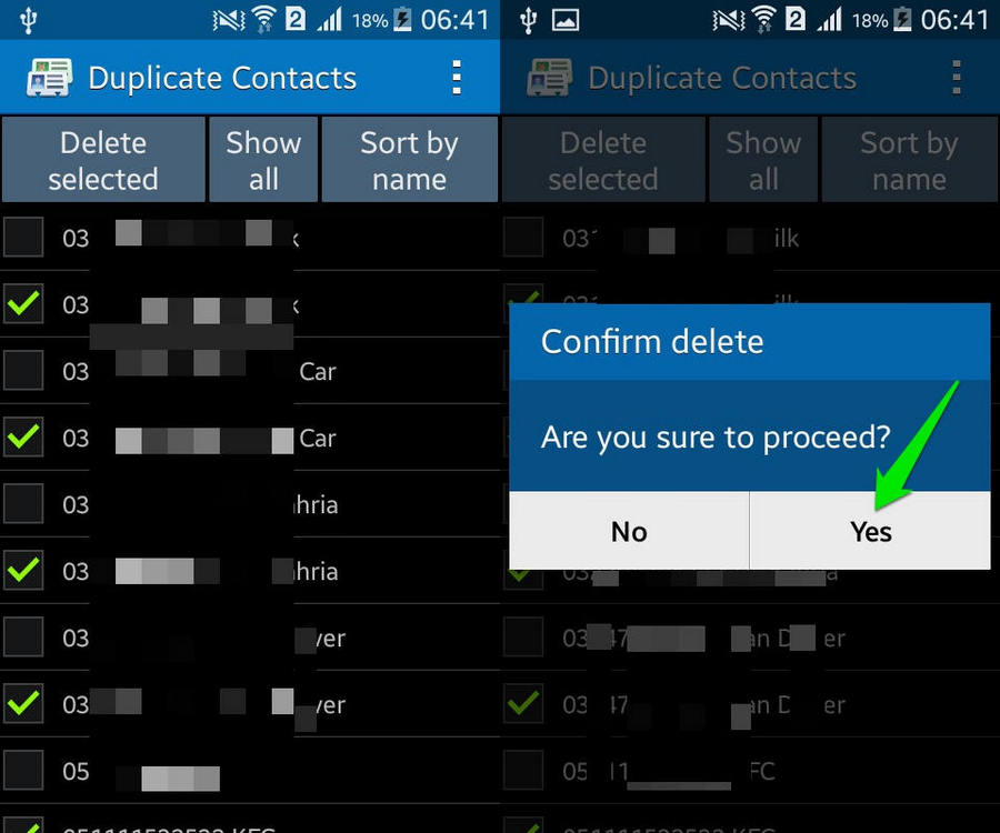 How To Remove Duplicate Contacts in Android | Ubergizmo