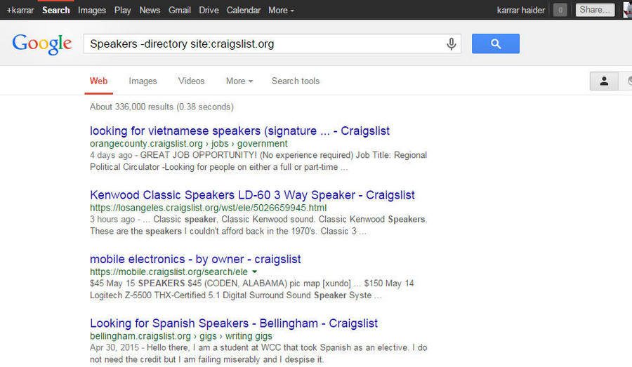 How To Search All Craigslist at Once   Ubergizmo