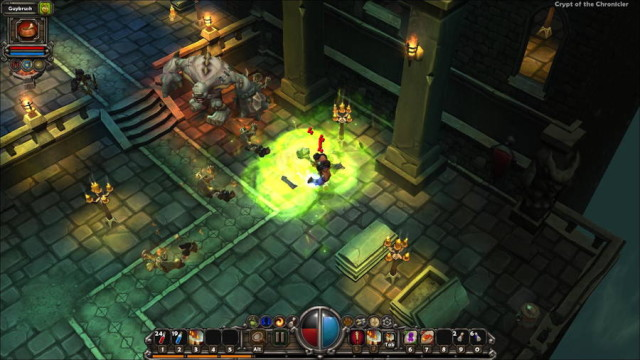Runic Games' Torchlight RPG Announced For iOS And Android