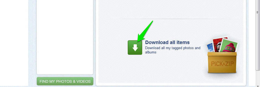 How To Download Your Facebook Photos | Ubergizmo