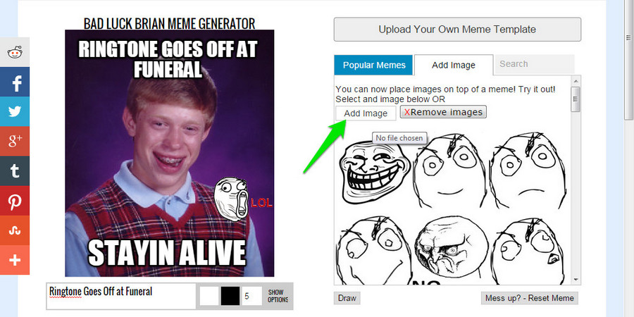 How To Make a Meme (Easy)   Ubergizmo