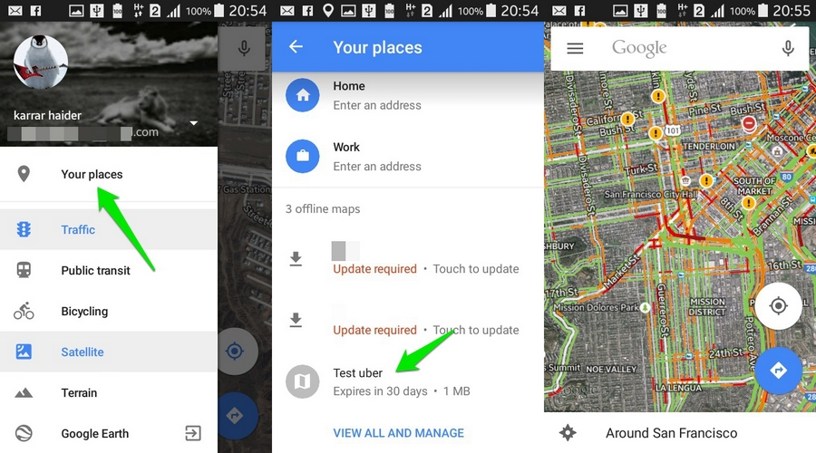 How To Use Google Maps Offline Android Ubergizmo
