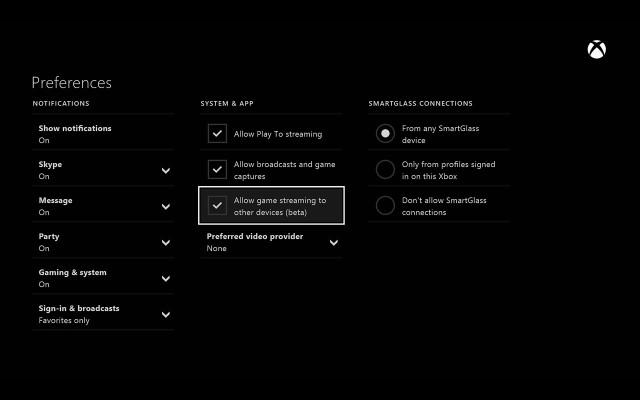 Turn-on-video-stream