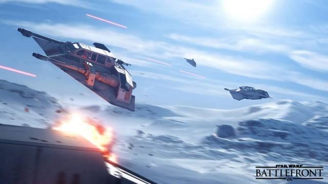 star wars battlefront ships