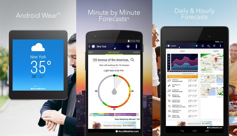 5 Best Android Weather Apps | Ubergizmo