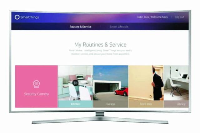 samsung smart tv iot