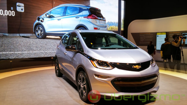 Chevrolet Bolt Battery Specifications Confirmed | Ubergizmo