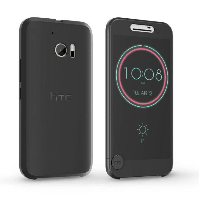 the best attitude e544e 778e2 HTC Reveals Ice View Case For The HTC 10 | Ubergizmo