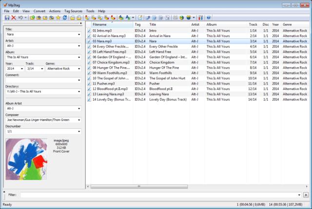 best free mp3 tag editor mac