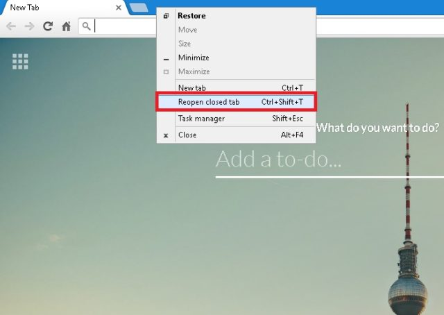How To Restore Recently Closed Tabs | Ubergizmo