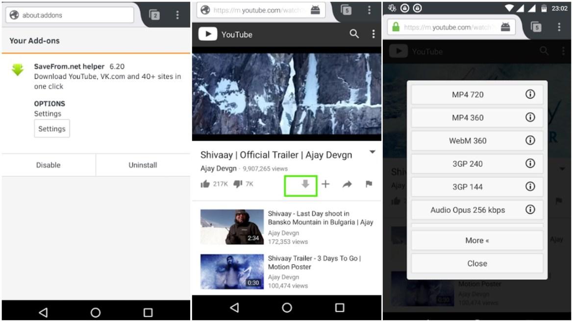 Cara Download Lagu Dari YouTube Dengan Helper SaveFrom.net