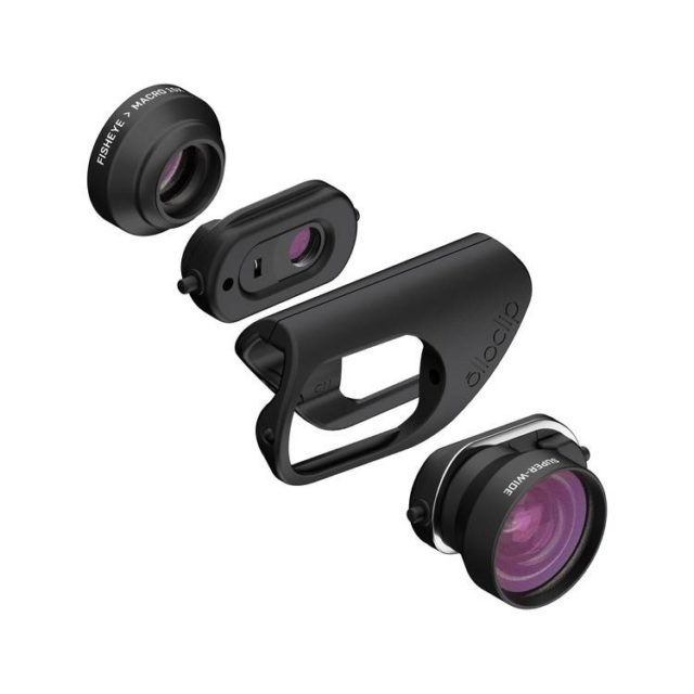 sports shoes 0d372 4543c Olloclip Launches Lens Attachments For The iPhone 7/7Plus | Ubergizmo