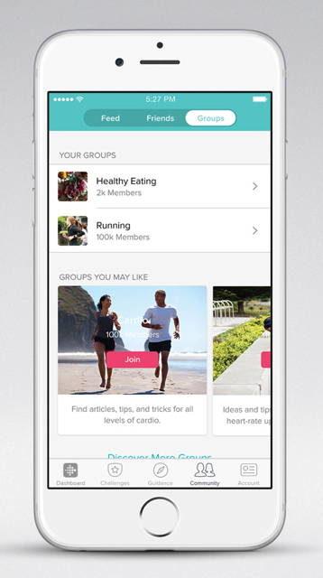 Fitbit Announces New Community Features | Ubergizmo