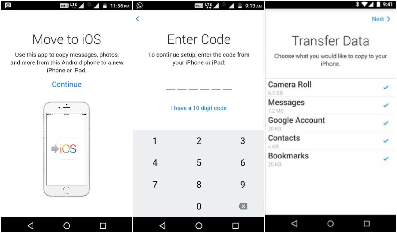 Transfer SMS Messages From Android To iPhone | Ubergizmo