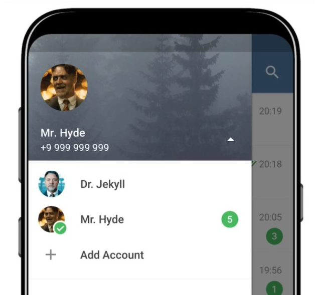 Telegram Updated With Support For Multiple Accounts, Quick Replies