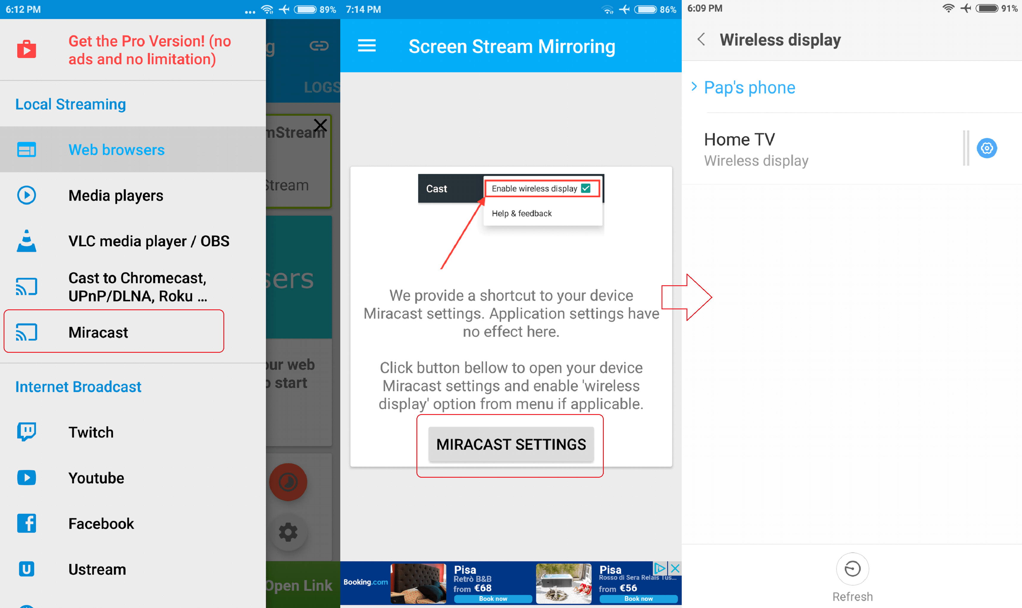 How To Mirror Android Screen On Your TV | Ubergizmo