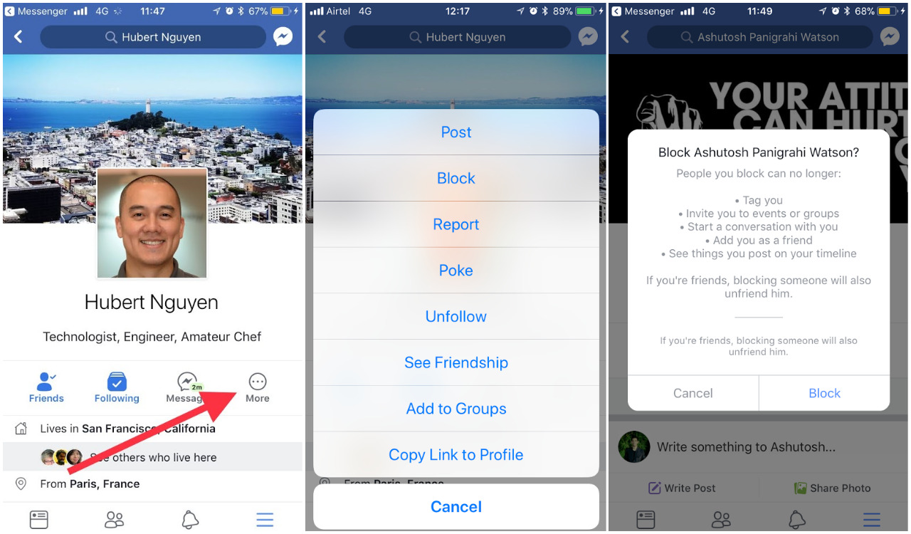 How to Block and Unblock Someone on Facebook | Ubergizmo