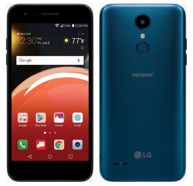 Low-End LG Zone 4 Launched On Verizon | Ubergizmo