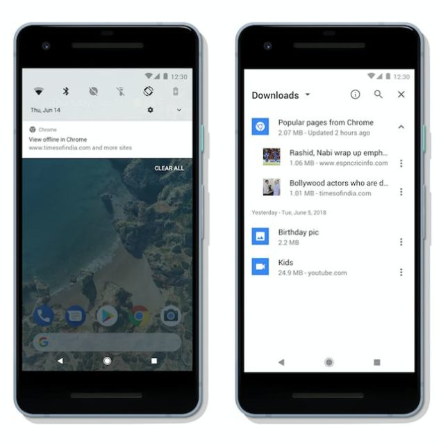 Google Chrome On Android Can Now Download Articles For