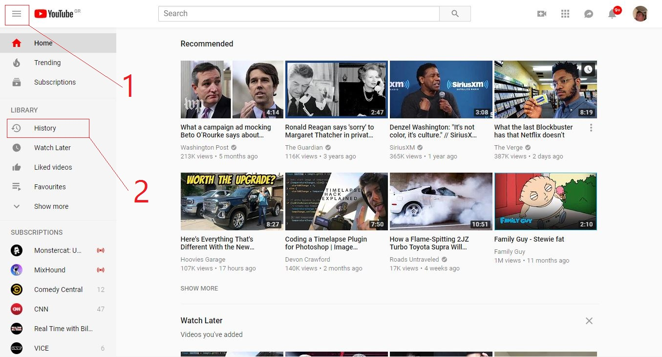 How To Delete YouTube Watch and Search History | Ubergizmo