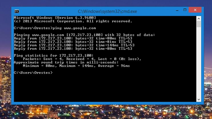 How To Use The Ping Command To Test Your Network (Win, Mac