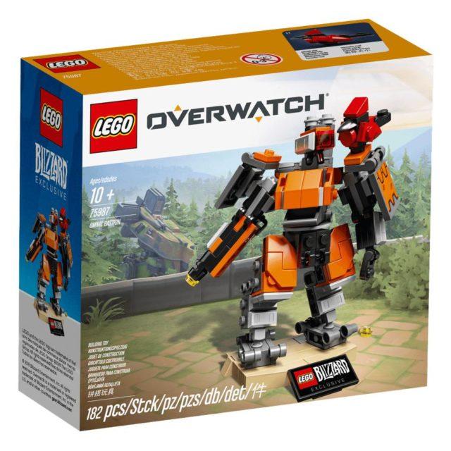 """Il primo set di LEGO di Overwatch ha rivelato """"il bastione di Omnic"""""""