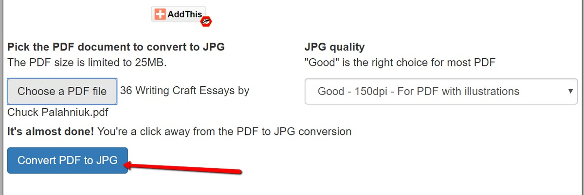 How To Convert PDF To JPG | Ubergizmo
