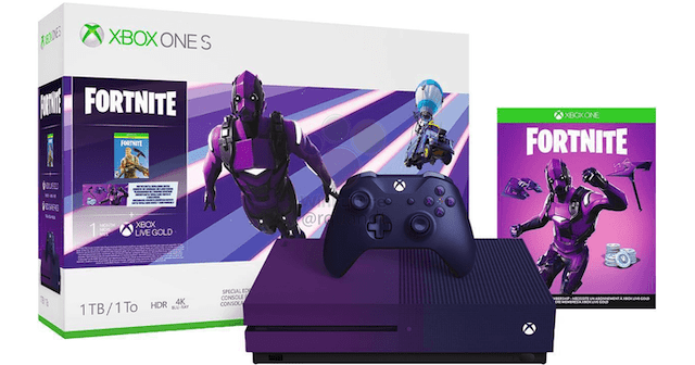 Fortnite Fans Will Love The Upcoming Purple Xbox One S Ubergizmo